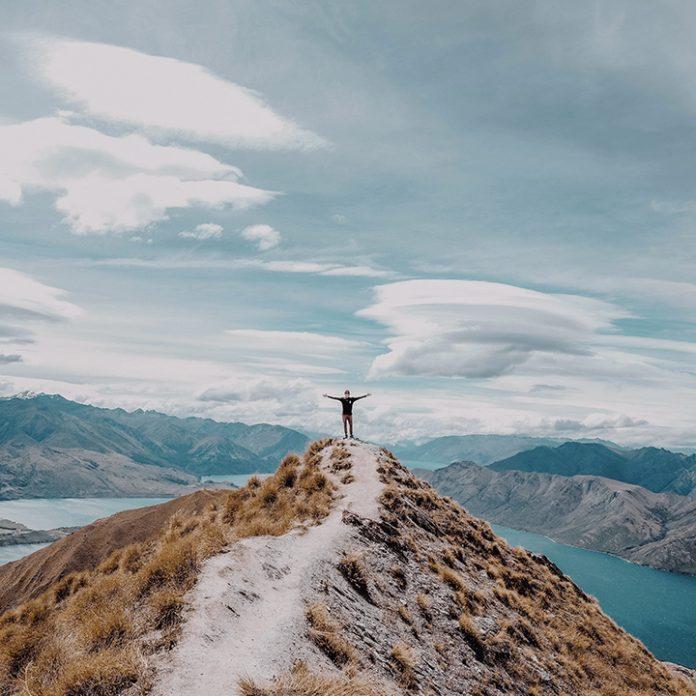foto de uma paisagem na nova zelância
