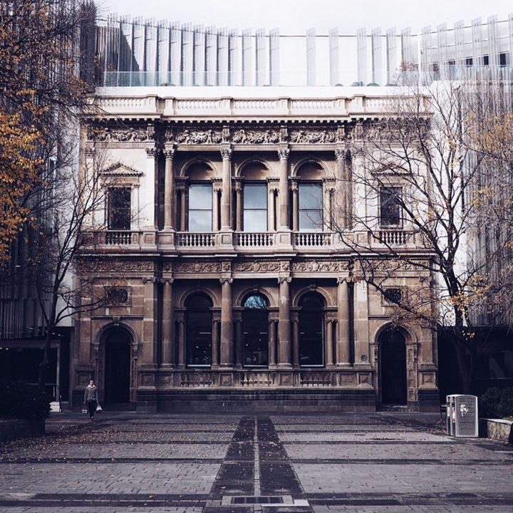 Foto da faculdade em Melbourne, ótima cidade para fazer curso de pos-graduação no exterior.