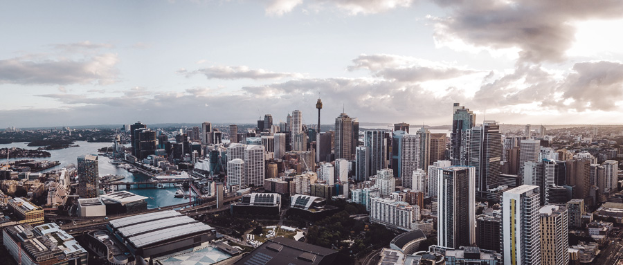 foto da cidade aérea