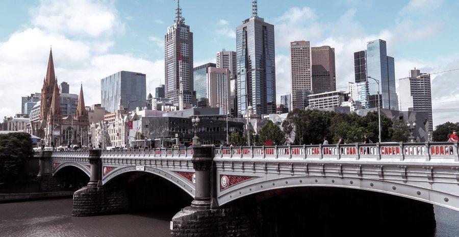 foto do canal de Melbourne