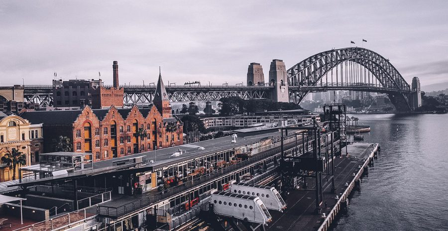foto de uma ponte na Austrália