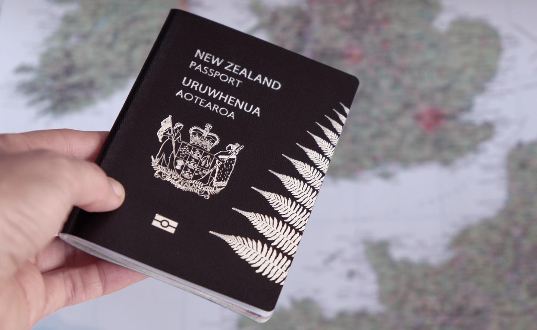 Visto para Nova Zelândia.