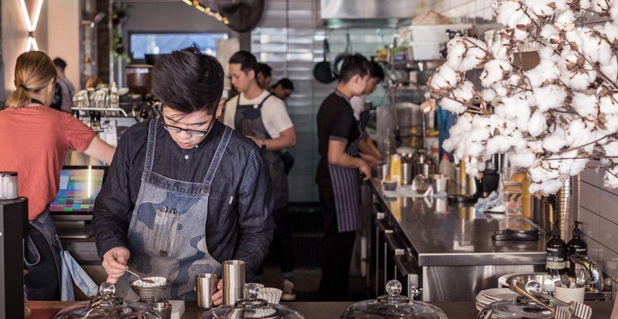 jovem trabalhador na Austrália