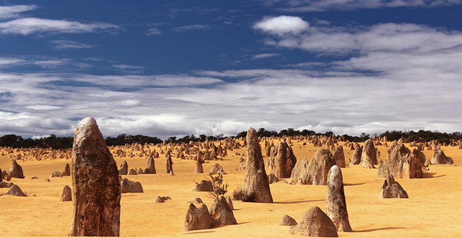 The Pinnacles na Austrália