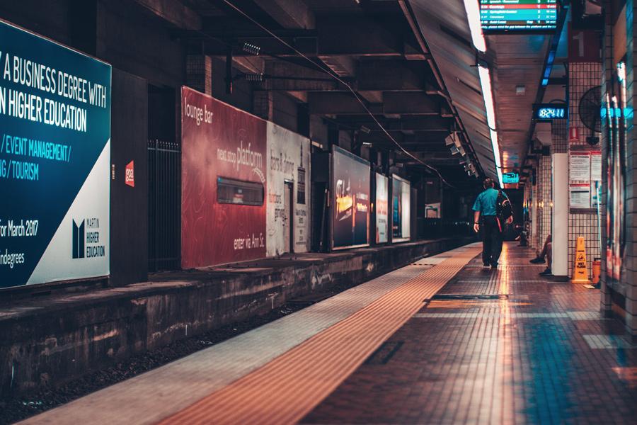 metrô em brisbane