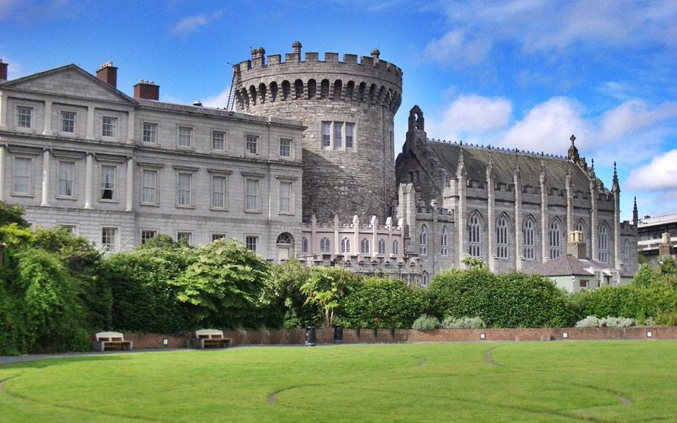 Castelo de Dublin, ponto turístico imperdível da Irlanda