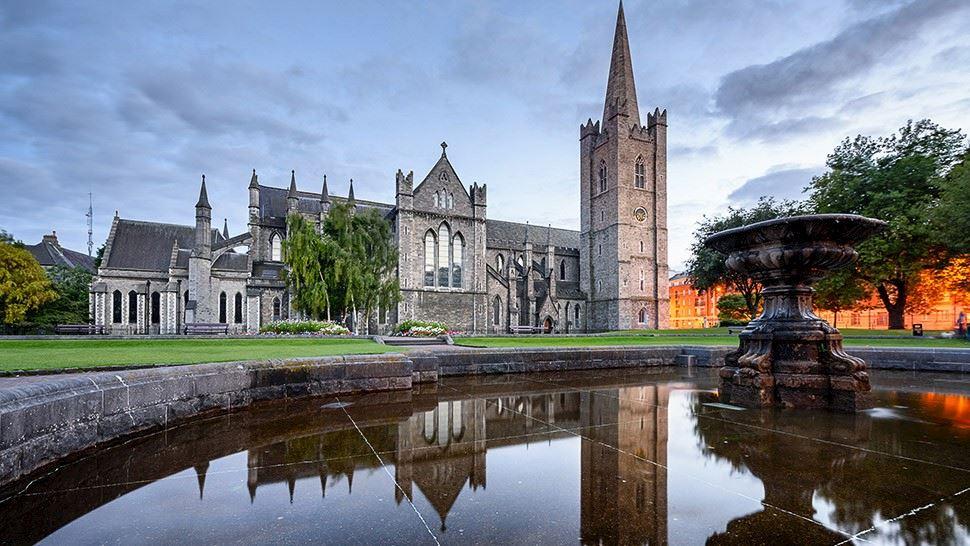 Catedral de St. Patrick, em Dublin, destino imperdível na Irlanda